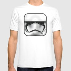 New Order stormtrooper White MEDIUM Mens Fitted Tee