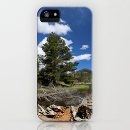 A Rocky Mountian Morning iPhone Case