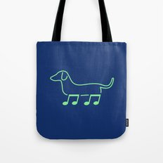 Foot Note II Tote Bag
