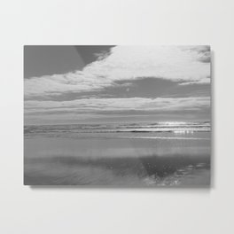Sunny day Shoreline Metal Print