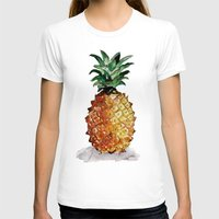 pineapple T-shirts featuring Pineapple by Bridget Davidson