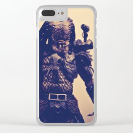 """Ahab Predator"" Clear iPhone Case"