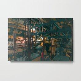 Submarine / Hamburg / Bladerunner Vibes Metal Print