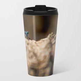 Libelula Azul, Blue Libelula Travel Mug