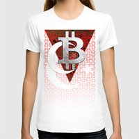 turkey T-shirts featuring bitcoin turkey by seb mcnulty