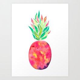Pineapple Flare Art Print