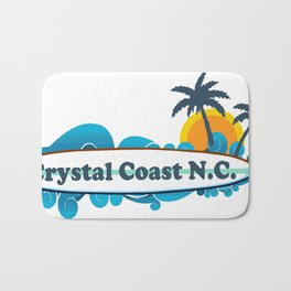 Crystal Coast - North Carolina. Bath Mat