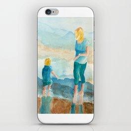 Joy On The Beach iPhone Skin