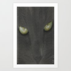 walls have eyes Art Print