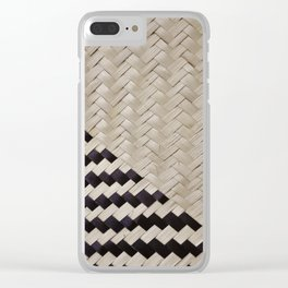 light and shadow straw Clear iPhone Case