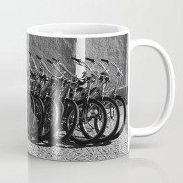 Waiting bikes Coffee Mug