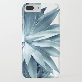 Bursting into life - teal iPhone Case