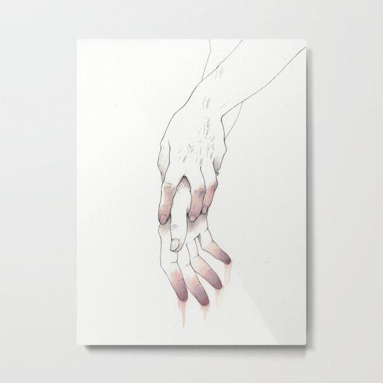 Untitled Hands No. 12 Metal Print