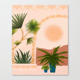 Dreamy Desert View Canvas Print