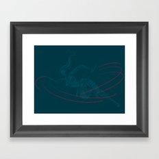 Kunoichi Framed Art Print