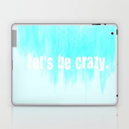 Ombre - Blue - I Want Crazy - Hunter Hayes Laptop & iPad Skin