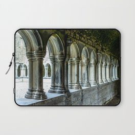 Askeaton Castle Cloisters Laptop Sleeve