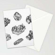 Gemstones drawing Stationery Cards