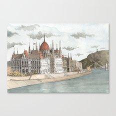 Budapest, Hungary Canvas Print