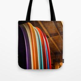 Surf Boards Tote Bag
