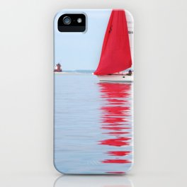 Straights of Mackinac iPhone Case