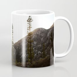 sunset in angeles crest forest Coffee Mug