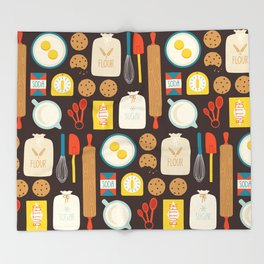 Cookie Party Throw Blanket