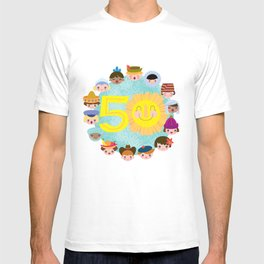 happy 50th small world! T-shirt