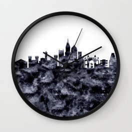 Bangalore Skyline India Wall Clock