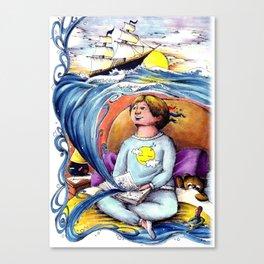 Sea stories Canvas Print