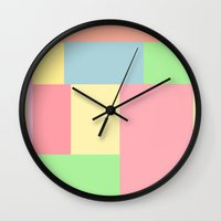 pantone Wall Clocks featuring Pantone mix by StevenARTify