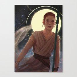 SW:TFA - Rey Canvas Print