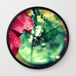 Rose and Chain Wall Clock