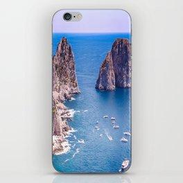 Capri Faraglioni iPhone Skin