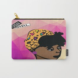 Turban Girl Carry-All Pouch