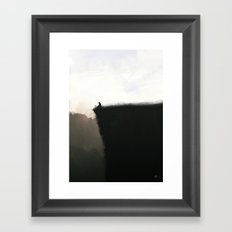 The Edge Framed Art Print