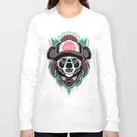 hustle Long Sleeve T-shirts featuring Electric Hustle by Tristan Groves