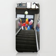 Balloons on an Escalator iPhone 6s Slim Case