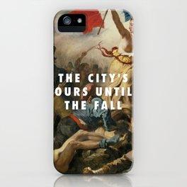 Eugène Delacroix, Liberty Leading the People (1830) / Halsey, New Americana (2015) iPhone Case