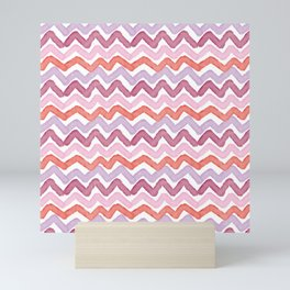 Scribbly Waves Mini Art Print