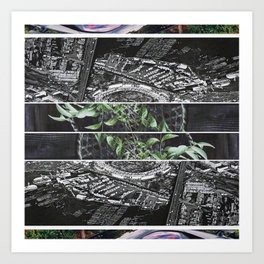 soothe systemic sound Art Print