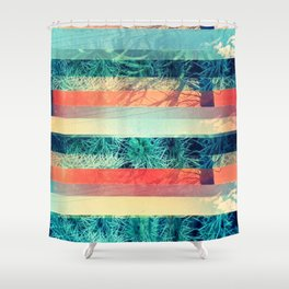 Divisions Shower Curtain
