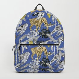 jungle marker pattern Backpack