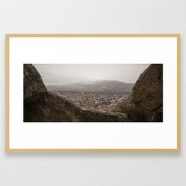 Uchisar Castle Framed Art Print