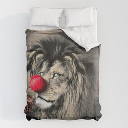Circus Lion Clown Comforters