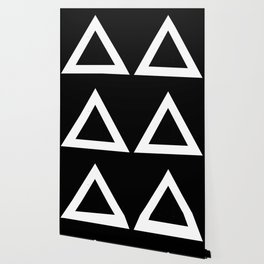 (TRIANGLE) (BLACK & WHITE) Wallpaper