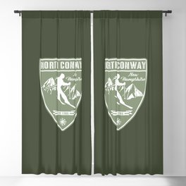 North Conway New Hampshire Blackout Curtain
