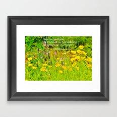 Rejoice in Hope Framed Art Print
