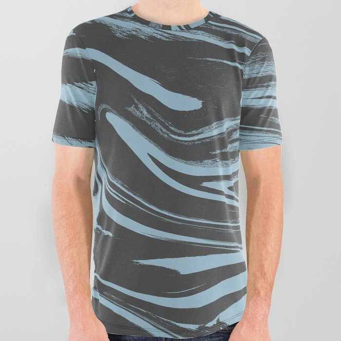 freeze freeze 2 All Over Graphic Tee