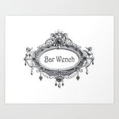 Bar Wench Art Print